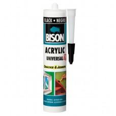 Bison silicon acrylic negru